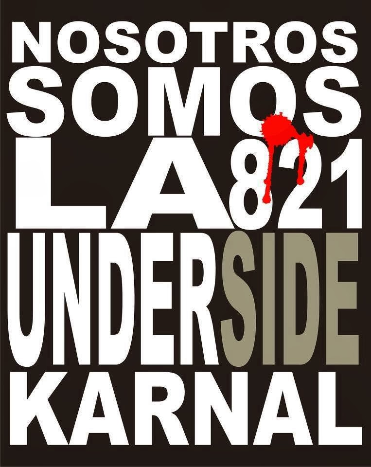 Under Side 821 - Nosotros Somos La Under Side Carnal