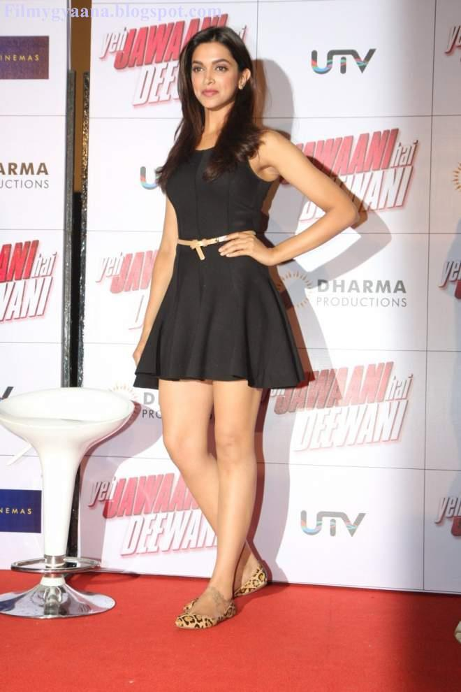 Deepika Padukone Hot Thigh Show Images