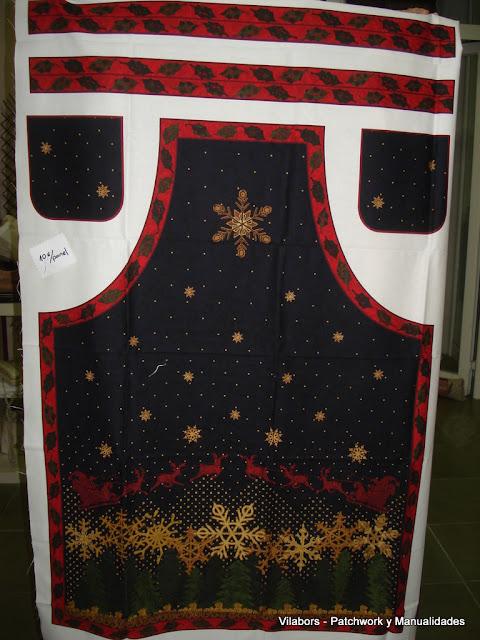Delantal motivo navideño 2012