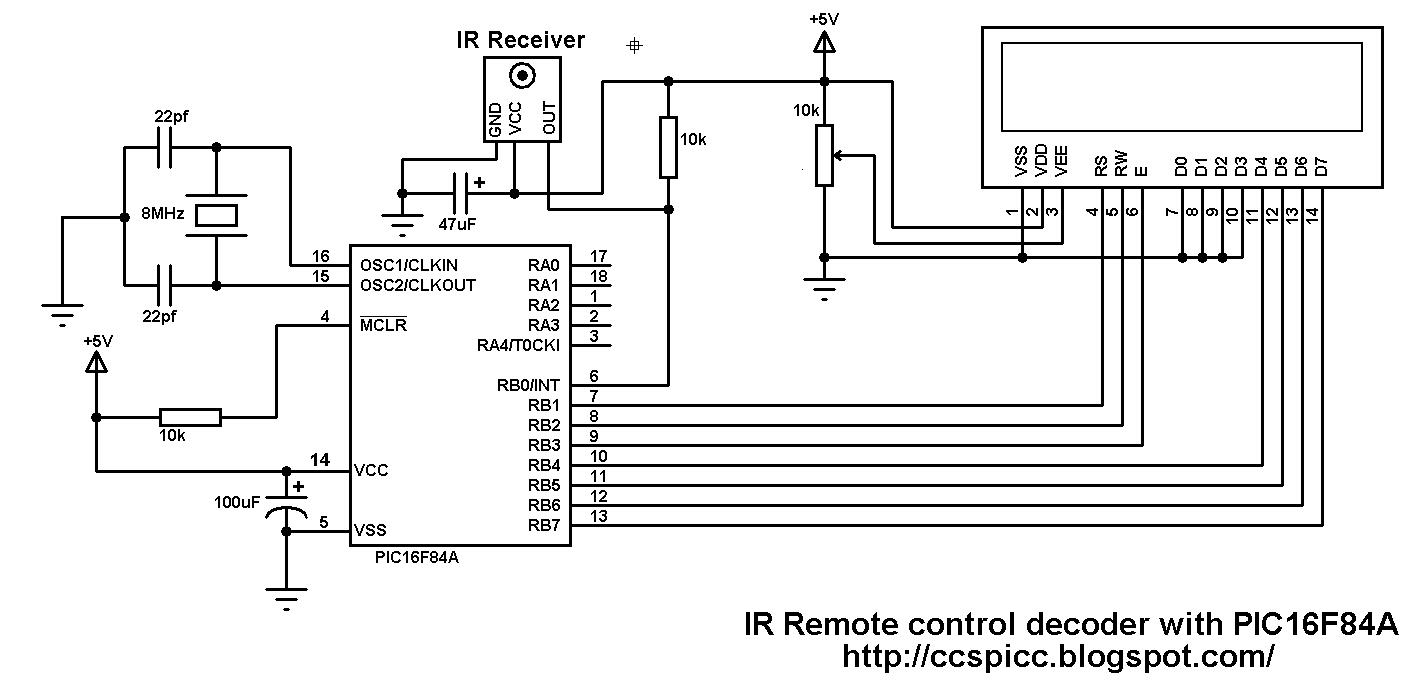 Ir Decoder Circuit Giftsforsubs Basic Infrared Transmitter Lm567 Nec Remote Control Dec