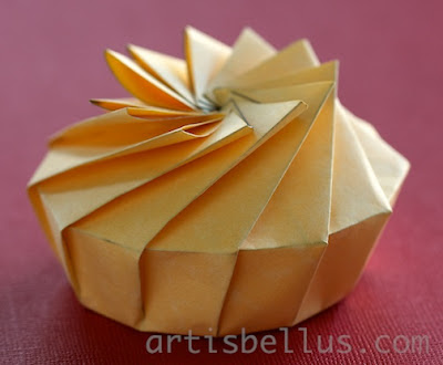 Spherical Origami, Jun Mitani