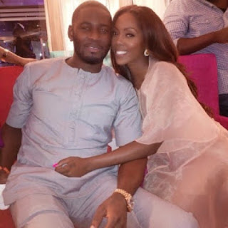 Tiwa Savage and her husband Tunji Balogun