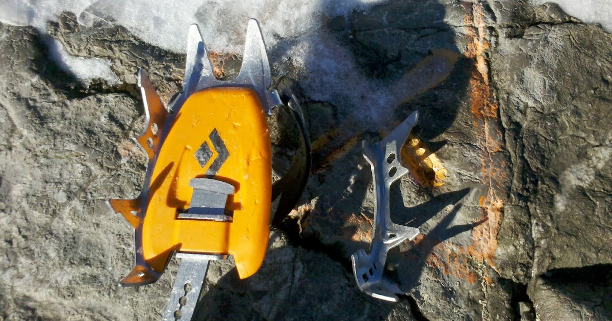 Stainless crampons?