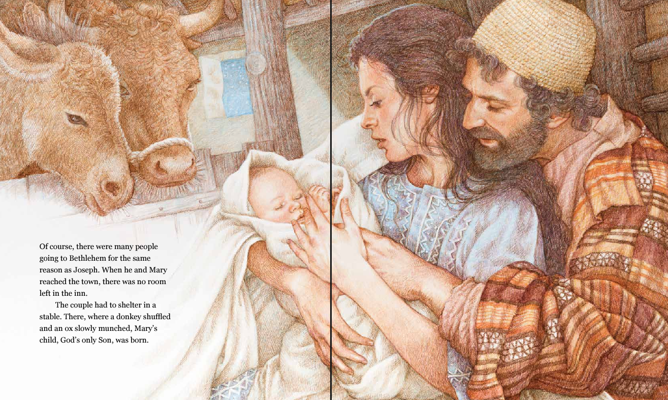 reading glutton jesus is born by sophie piper illustrated by