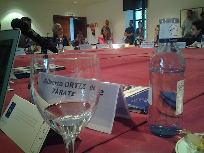 Encuentro de blogueros en La Granja