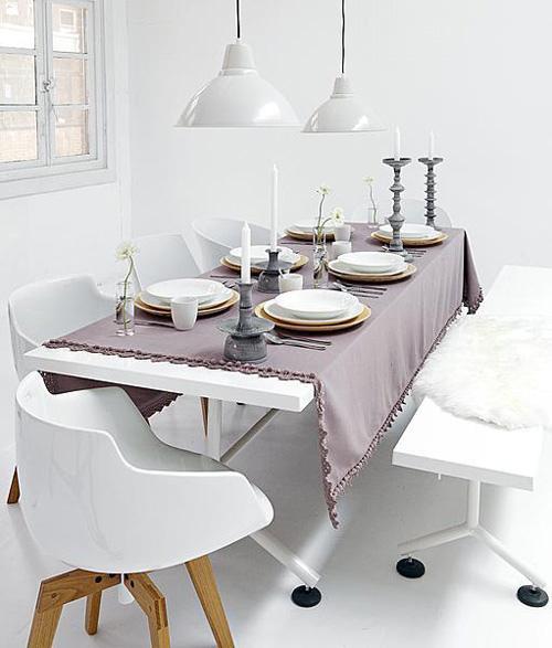 modern étkező ebédlő lakberendezés