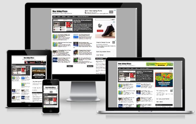 New Johny Wuss - SEO Friendly & Responsive Blogger Template