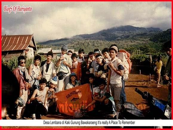 Desa Lembana di Kaki Gunung Bawakaraeng It's really A Place To Remember