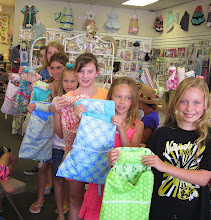 Summer Sewing Camp for Kids is going strong!