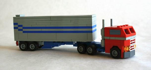 Optimus - Modo Camión - Lego