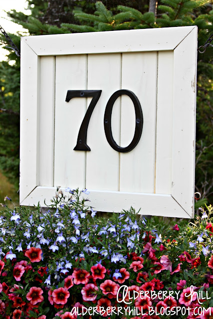 1 pm029 House Number Sign