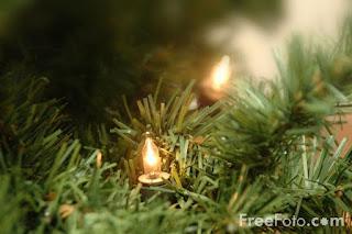 Christmas lights..