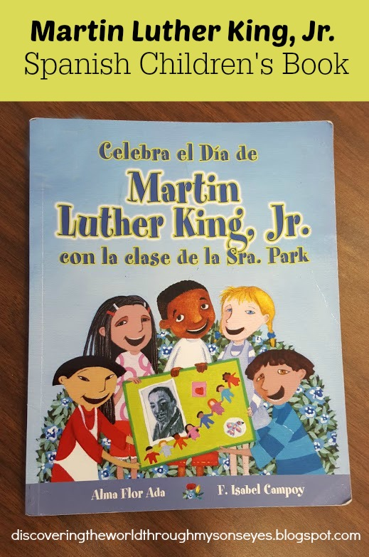 Martin Luther King Jr Spanish Children S Book Discovering The