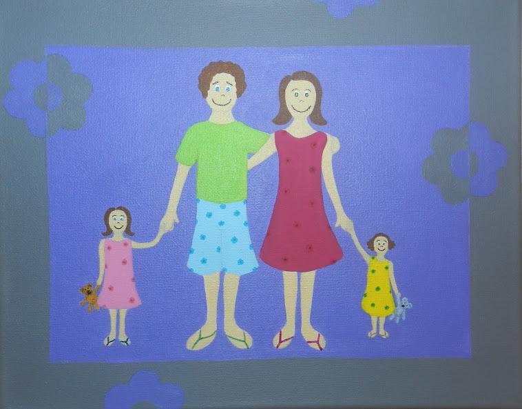 Portrait de famille personnalisable