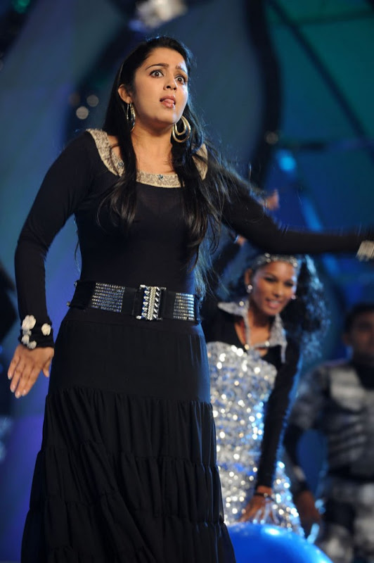 Actress Charmi Sexy Stills At Cinemaa Awards  Hot Performance Cleavage gallery pictures