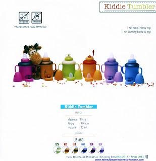 Info & Harga Twin Tulip Tulipware 2014 : Kiddie Tumbler