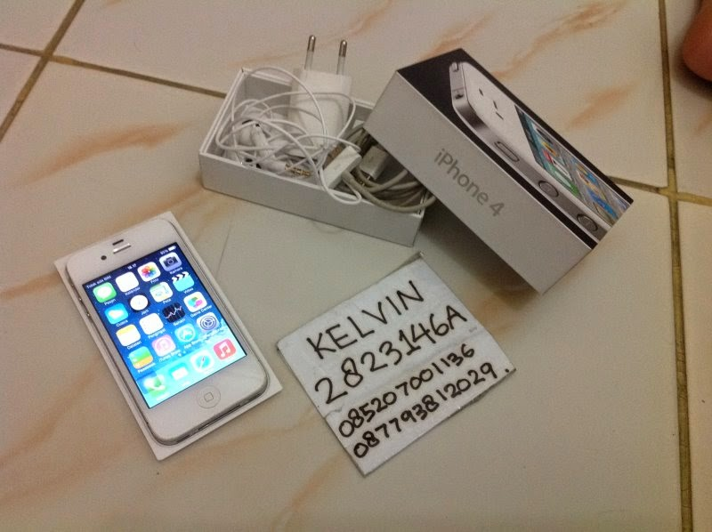 Jual Iphone,Ipad,BB,Handphone Lain,Laptop Second 2nd