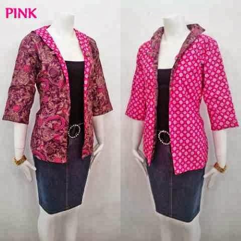 Model Baju Batik Atasan Terbaru Ini Diilhami Dari Model Batik Kerja ...
