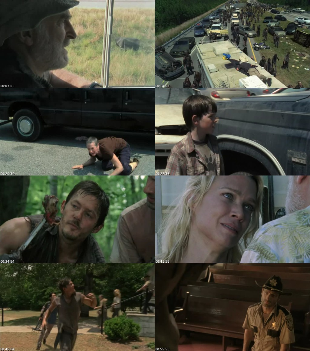 The Walking Dead - Temporada 2 [HDTV] [Audio Español]