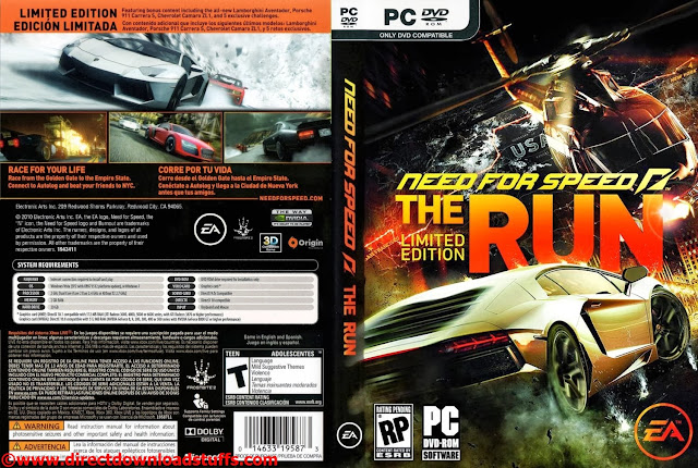 Динамо - Анжи 0:1. Need for Speed The Run Special Edition ( Highly Compress