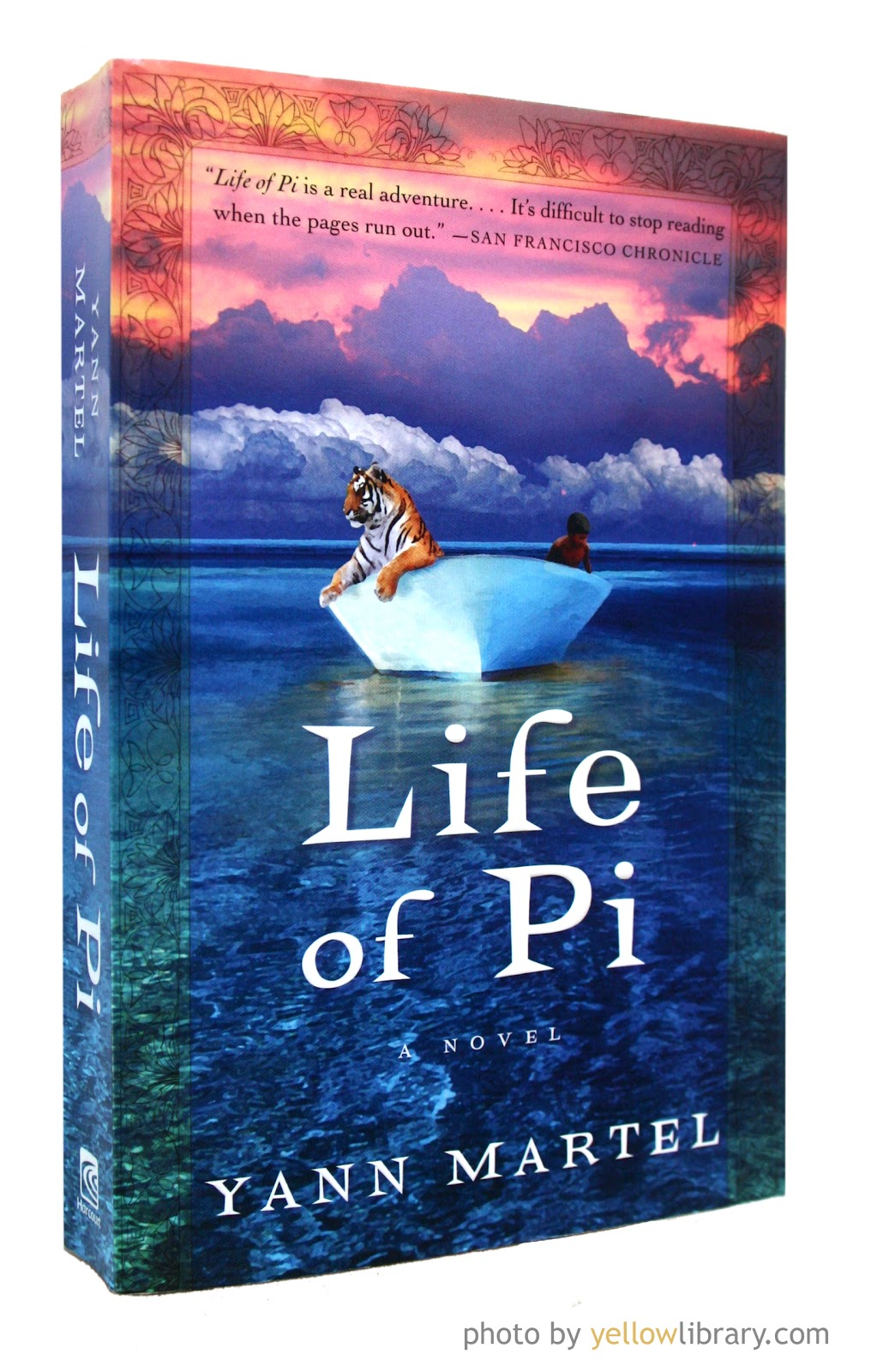 a review of the life of pi a novel by yann martel Life of pi ebook: yann martel  novel and winner of the  outrageous scenario with plausible life-- the new york times book review a story to make you.
