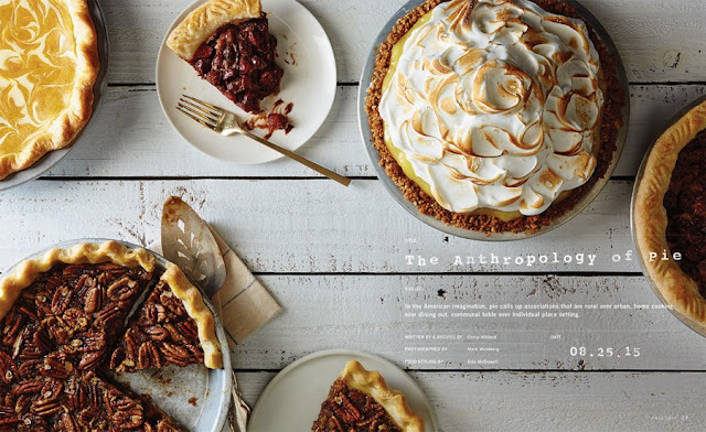 The Anthropology of Pie in King Arthur Flour's Sift Magazine by Emily Hilliard