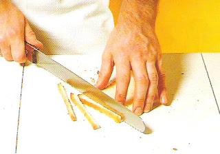 tailler les voiles pain anglais