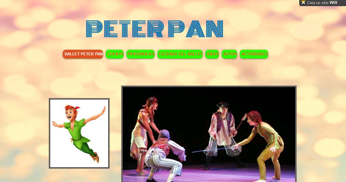 """BALLET: """"PETER PAN"""""""