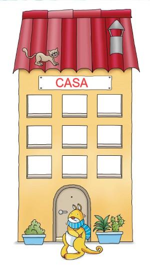 Recursos para educaci n infantil murales para la clase pasar lista tiempo atmosf rico - Casa para jardin infantil ...
