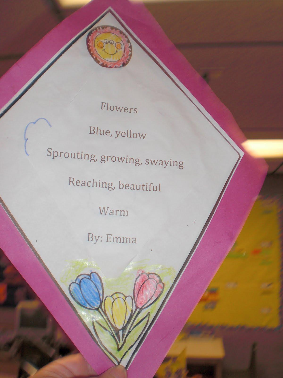 cinquain poem about flowers - photo #14