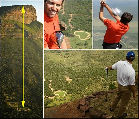 World's Hardest Golf Hole