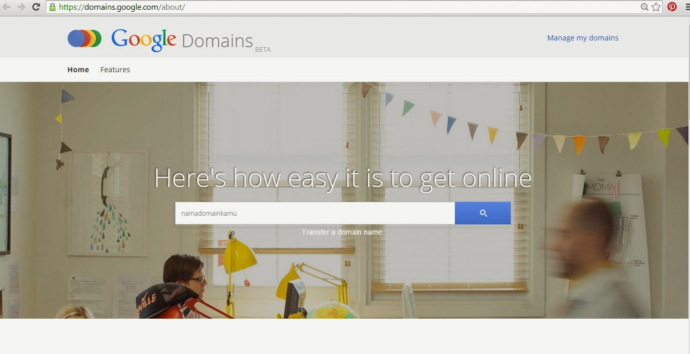 Akhirnya Google Domain Sekarang Sudah Tersedia (Baru)