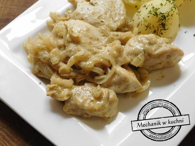 Filet z kurczaka w sosie musztardowym patelnia grillowa smażenie kurczak w sosie alfabetyczny spis treści