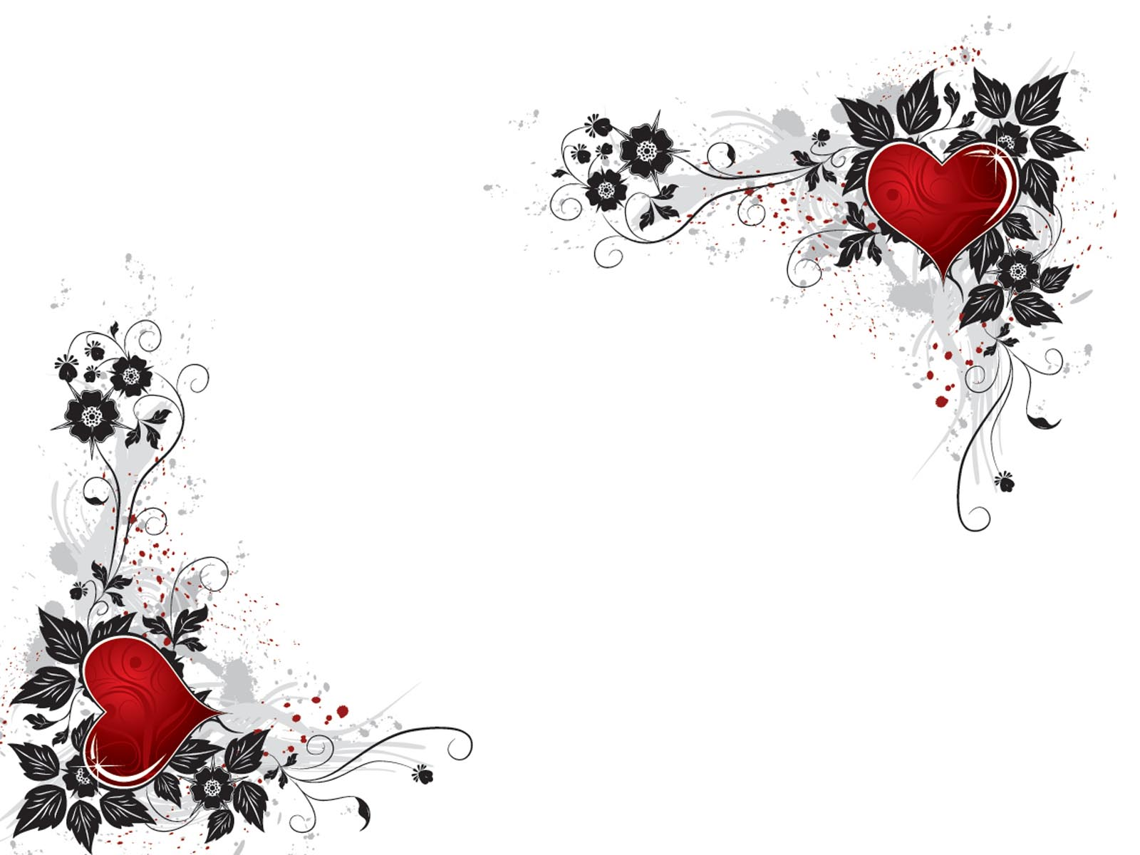 Red Heart Backgrounds