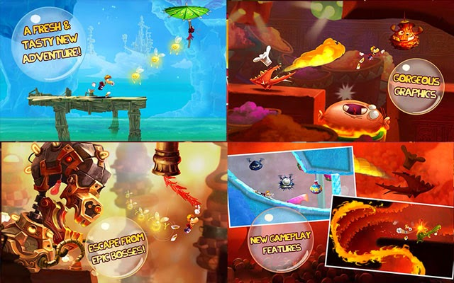 Rayman Fiesta Run 1.0.2 APK screenshots