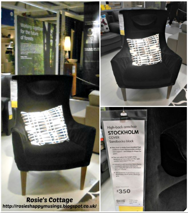 Stockholm chair from Ikea