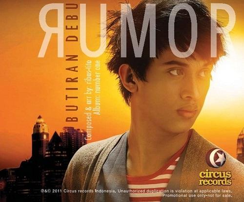 Lirik Lagu Rumor - Butiran Debu