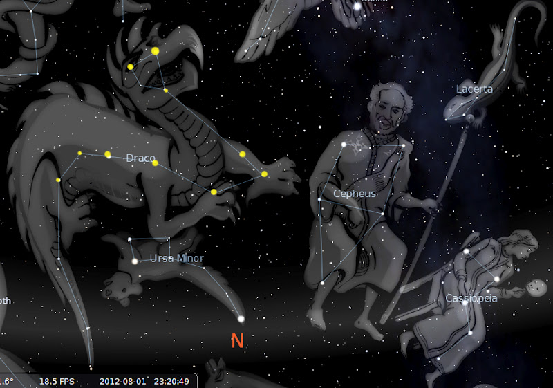 how to find draco constellation