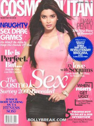 Diana Penty on Cosmopolitan Magazine CoverPage - (4) - Diana Penty All Magazine CoverPage Scans