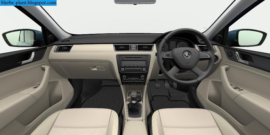Skoda rapid car 2013 interior - صور سيارة سكودا رابيد 2013 من الداخل