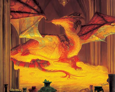 Smaug The Hobbit 2012 movieloversreviews.blogspot.com