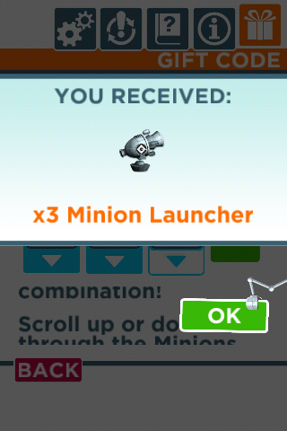 Despicable Me: Minion Rush Gift Code