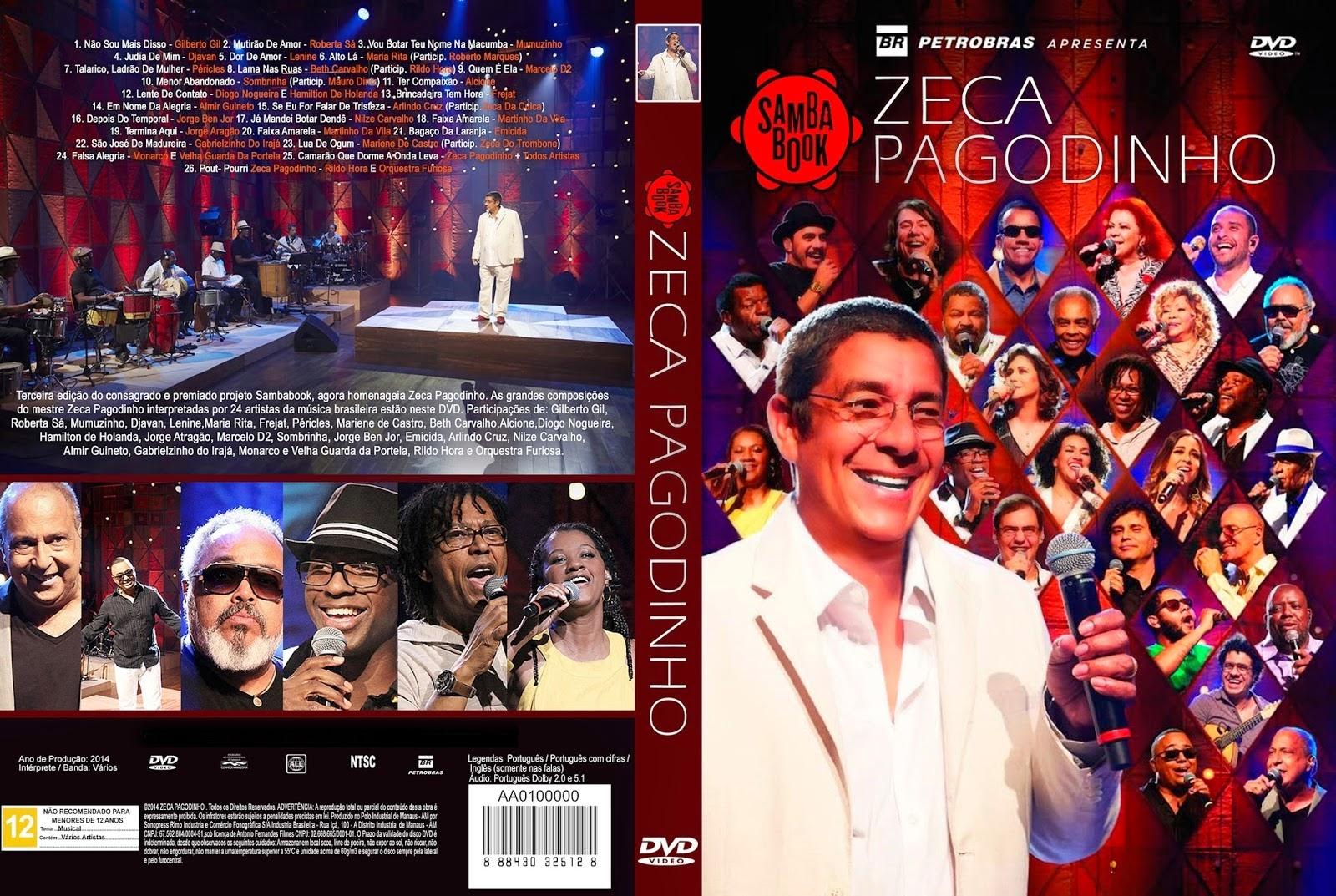 Download Zeca Pagodinho Sambabook DVD-R Zeca Pagodinho Sambabook