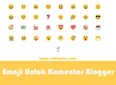 Emoji Untuk Komentar Blogger