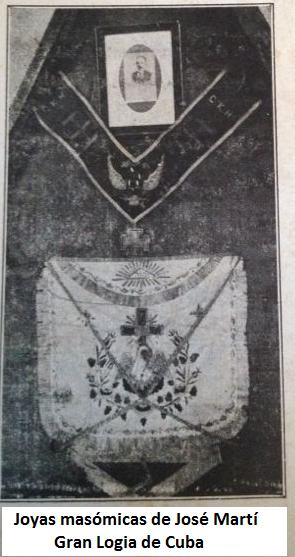 Logia Armonía y José Martí Marti-Joyas-masonicas