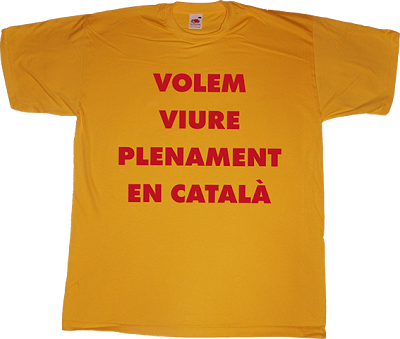 joan brossa tribute catalan catalonia independence freedom art typography poetry t-shirt ephemeral-t-shirts
