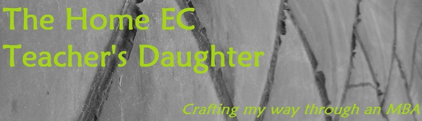 The Home EC Teachers Daughter