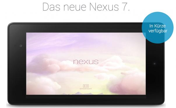 New Nexus 7, Nexus 7 Nachfolger, Nexus 7 2, Nexus 7 II
