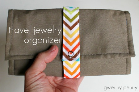 Gwenny Penny Travel Jewelry Organizer Tutorial