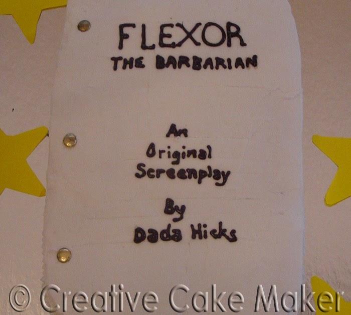 the creative cake maker movie script cake